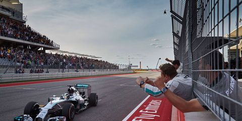 The Formula One U.S. Grand Prix weekend was about so much more than just Lewis Hamilton driving his Mercedes across the finish line with the win.