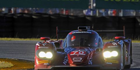 IndyCar regular James Hinchcliffe, shown driving in the Rolex 24 last year, will be back for the race in 2015. He'll be joined by 13 other drivers who started the 2014 Indianapolis 500.