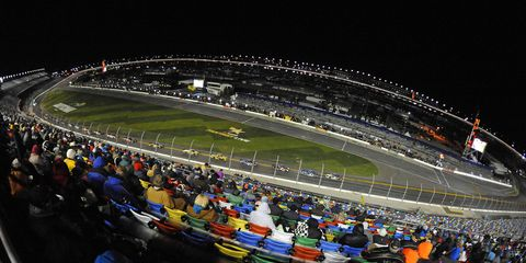 Daytona International Speedway was Facility of the Year at the 2016 Sports Business Journal Awards on Wednesday.