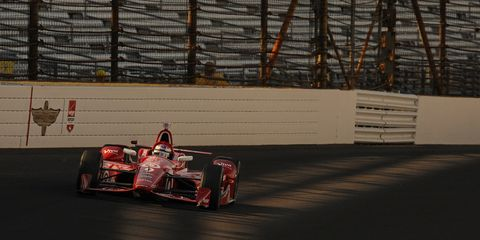 Scott Dixon will start from the pole at the Indy 500 on Sunday.