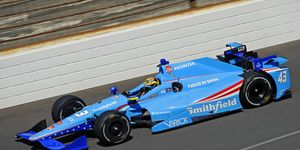 Conor Daly finished 33rd in his second Indy 500 start on Sunday.
