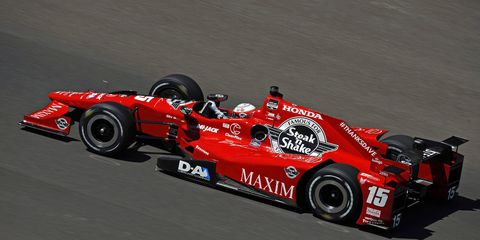 Graham Rahal led Honda to a strong fifth-place finish in the Indy 500.