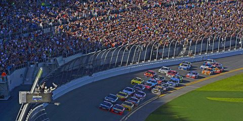 NASCAR is back in Daytona this weekend.