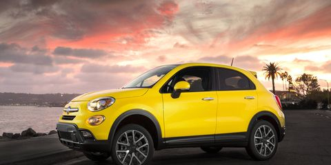 The 500X will likely gain an Abarth variant, thought Fiat isn't spilling performance secrets at the time.