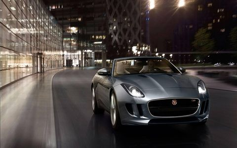 The 2014 Jaguar F-Type S Convertible comes in at a base price of $81,895 with our tester topping off at $91,228.