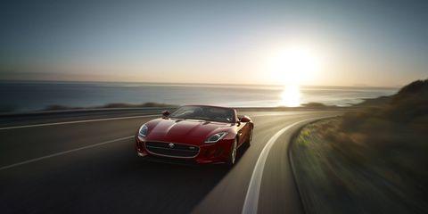 The 2016 Jaguar F-Type hits dealerships in April.