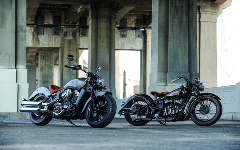 The 2015 Scout was unveiled at this years Sturgis Motorcycle Rally.