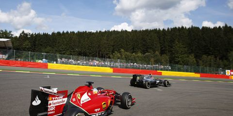 Fernando Alonso is still fighting to get his first championship with Scuderia Ferrari.