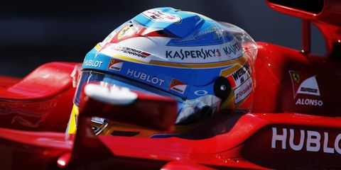 Fernando Alonso, 33, is signed to drive for McLaren-Honda for the next three years.