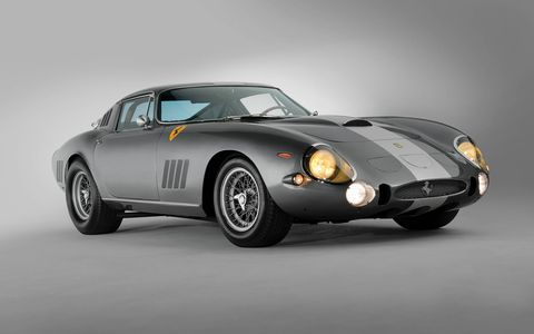 The 1964 Ferrari 275 GTB/C Speciale by Scaglietti isn't quite as high on the list of ultimate collector cars as the 250 GTO, but it's still up there.