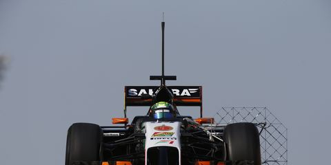 Force India plans to run a 2014 car at the first official Formula One test on Feb. 1 in Spain.