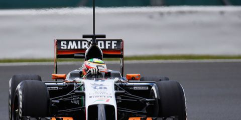 Force India is reportedly one of the few teams in Formula One not using a FRIC suspension system.