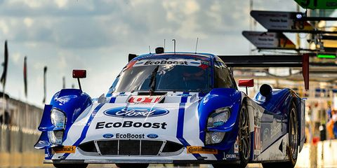 Scott Pruett and Joey Hand have a pair of runner-up finishes to show for the 2015 season.