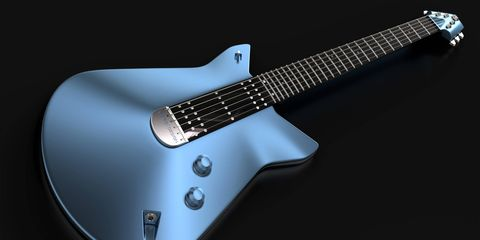 Ford designed an electric guitar inspired by the new Ford GT.