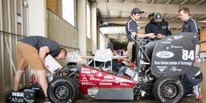 Formula SAE is more than just building a race car. It's about learning about multiple sides of the industry.