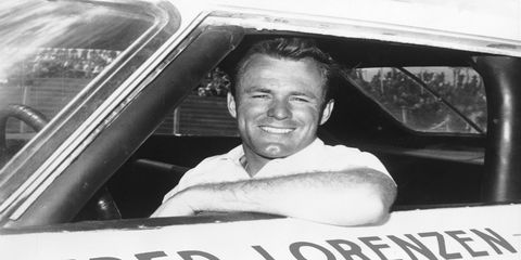 Fred Lorenzen, winner of the 1961 and 1964 Rebel 300s.