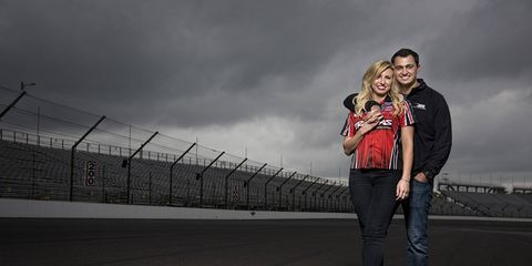 Courtney Force and Graham Rahal recently announced their engagement on Twitter.