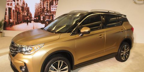 Chinese manufacturer GAC group will make its third trip to the Detroit auto show in 2017. The company was last in Detroit in 2015, and unveiled the GS4 SUV shown.