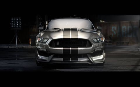 Naturally, the new Shelby GT350 Mustang gets racing stripes and a snake badge -- but there's a lot going on under the hood to back up the looks.