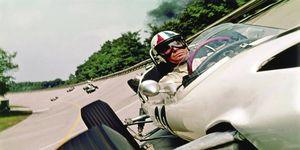 "James Garner starred in the 1966 racing classic, ""Grand Prix."""