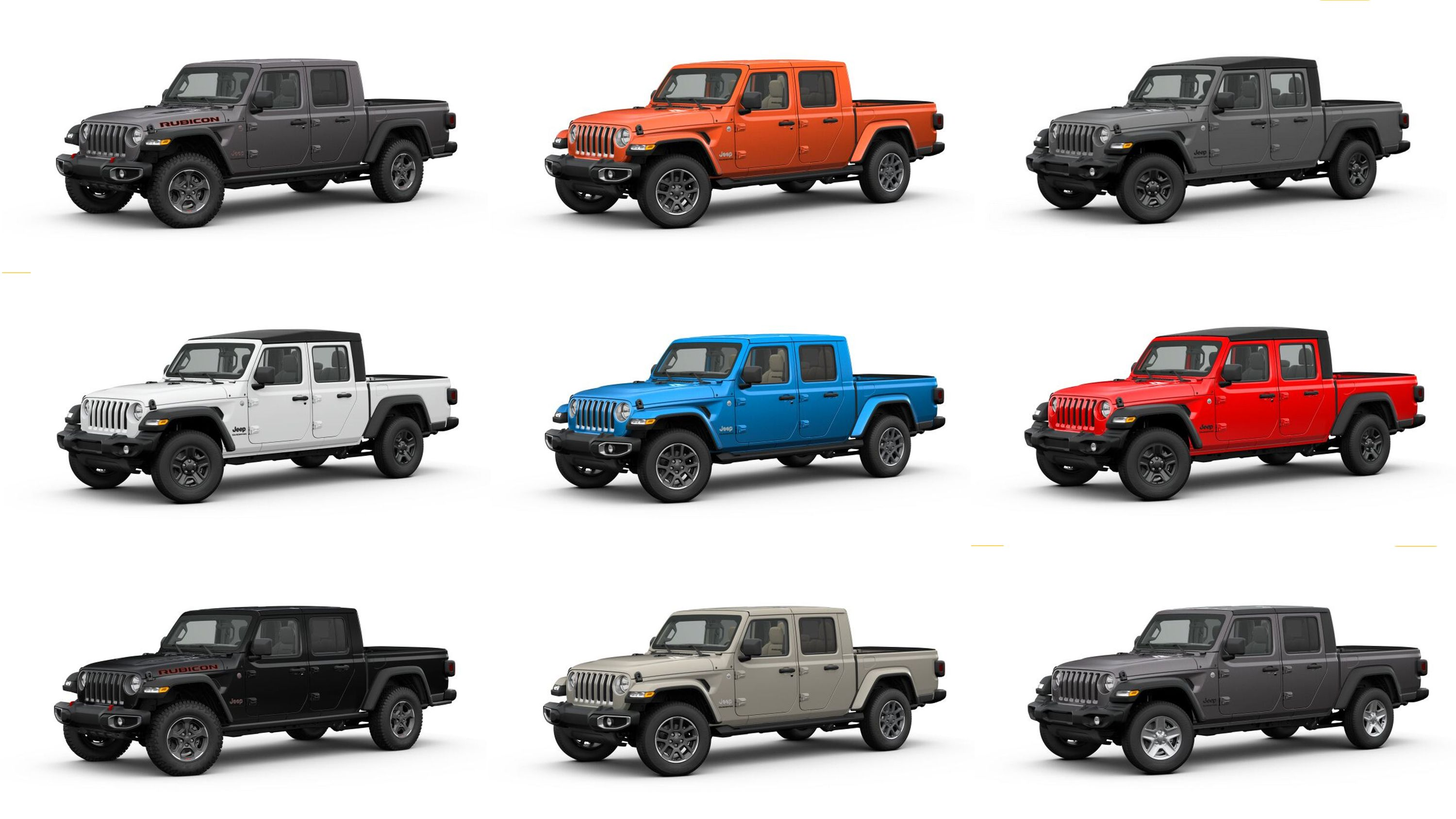 The Jeep Gladiator Configurator Is Live Build Your Dream Off Road Pickup Now