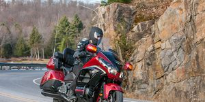 The Honda Gold Wing changed what a touring motorcycle was.