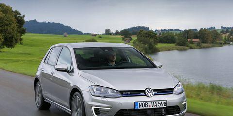 Volkswagen Golf GTE plug-in hybrid