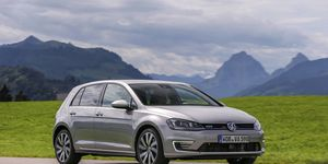 While the Volkswagen GTE plug-in hybrid promises big fuel economy numbers, its steep price tag makes it unlikely we'll ever see it available in the US.