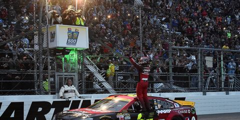 Jeff Gordon was winless in the regular season, and his win on Sunday couldn't have come at a better time.