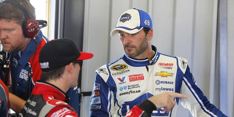 NASCAR Sprint Cup driver Jeff Gordon is determined to win his fifth championship this year. Will it be Gordon or competitor Jimmie Johnson?