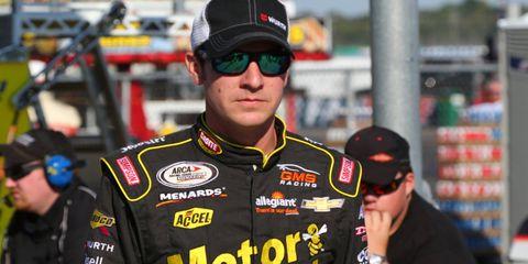 Grant Enfinger won at Daytona International Speedway on Saturday afternoon.