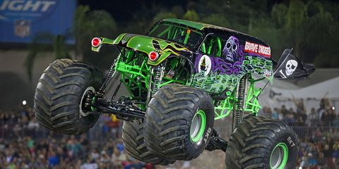 Monster Jam driver Dennis Anderson is recovering from injuries sustained last weekend in Tampa.