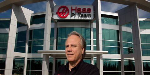 Gene Haas plans to use Formula One as a platform to grow both his racing empire and his Haas Automation computer machine-tool operation.