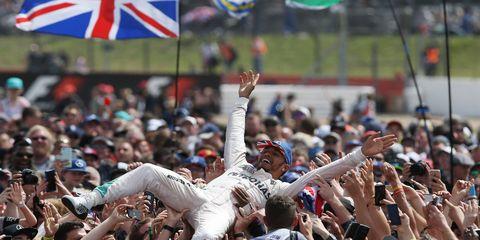 Lewis Hamilton won Sunday's British Grand Prix.