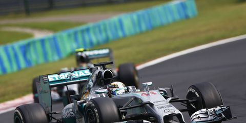The former Renault F1 boss is not all that surprised Lewis Hamilton and Nico Rosberg are running away with the points championship this year in Formula One.