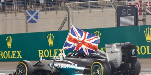 Mercedes easily won the Formula One Constructor's Championship this year.