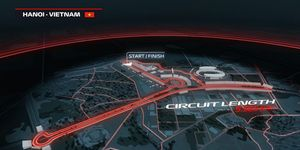Formula 1 will take on a new circuit in Hanoi, Vietnam in 2020.