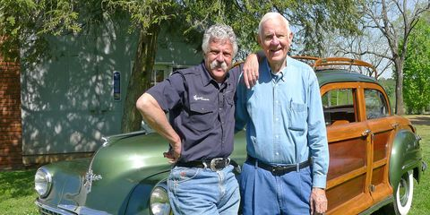 Coker (right) is survived by his wife, sons, daughter and grandchildren.