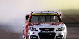 Kevin Harvick won the NASCAR Sprint Cup Series finale at Homestead, Fla., to clinch his first Cup championship.