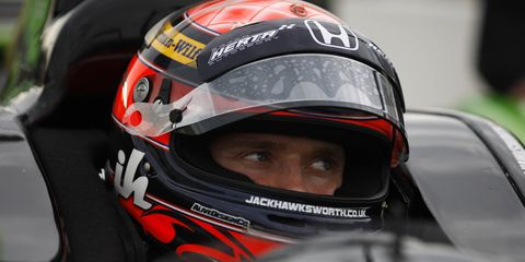 Jack Hawksworth is taking his talents to the IMSA Tudor United SportsCar Championship race for RSR Racing at the Indianapolis Motors Speedway on Friday.