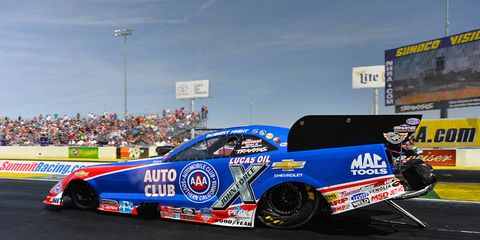 Robert Hight is getting it done for John Force Racing this season.