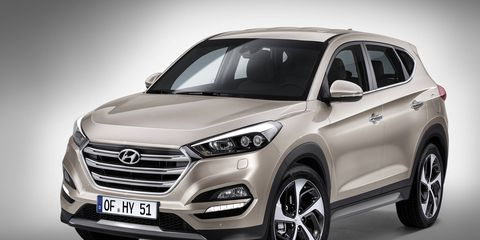 The 2016 Tucson made its European debut at the Geneva motor show this week.