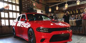 The Charger SRT Hellcat is the most powerful production sedan in the world.