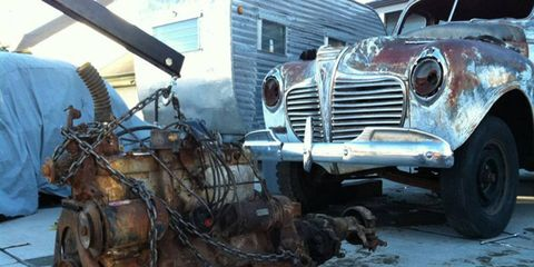 Chrysler used this engine family from the 1920s through the 1970s, so it wasn't hard to find a new home for mine.
