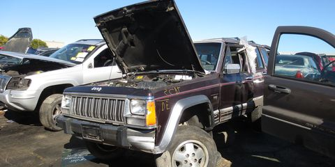The Laredo trim level seems to be an indicator of the likelihood that a Cherokee will wash up in a wrecking yard.