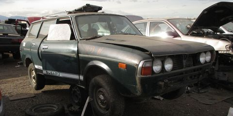 By the time the song came out, new Subarus were slightly bigger than the notoriously tiny 360 of the late 1960s.
