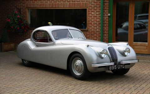 Three years after Jaguar launched the XK120 came the XK120 Fixed Head Coupe.