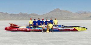 Team Vesco after its record run