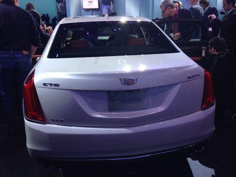 2016 Cadillac CT6 luxury sedan