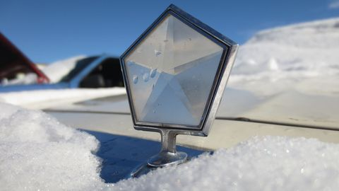 The crystal pentastar hood ornament went on millions of Chryslers, Dodges, and Plymouths during the 1980s and 1990s.
